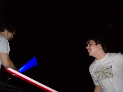 Josh fights to the death
