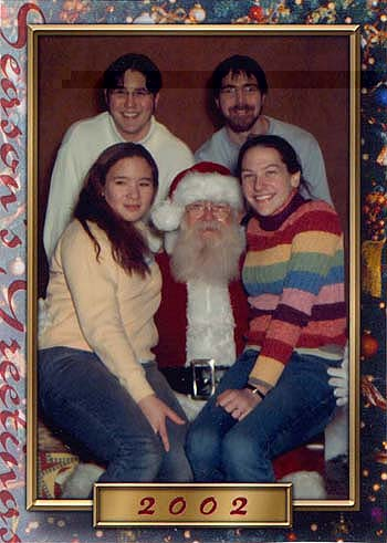 Gophers with Santa