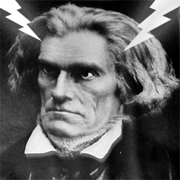 John C Calhoun Mad Hair